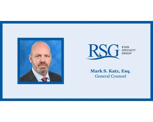 Ryan Specialty Group Appoints Mark S. Katz, Esq. General Counsel