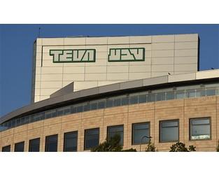 D&O market faces $600mn Teva Pharmaceuticals loss