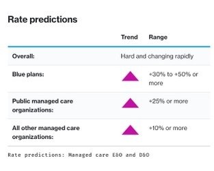 Insurance Marketplace Realities 2021 – Managed care E&O and D&O