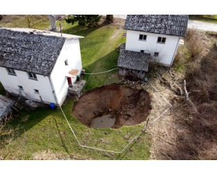 Sinkholes Emerge After Croatia's Deadly Earthquake in December