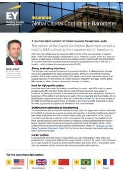 Insurance: Global Capital Confidence Barometer