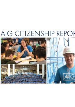 AIG Citizenship Report 2017