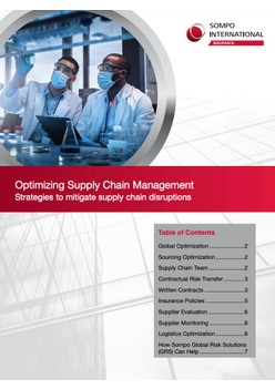 Discussion Paper: Optimizing Supply Chain Management