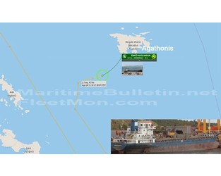 Turkish freighter disabled, drifting in Greek waters - FleetMon