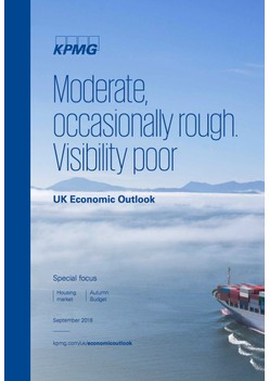 Moderate, occasionally rough. Visibility poor - UK Economic Outlook