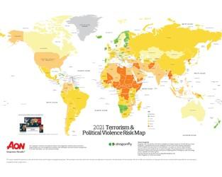 2021 Terrorism & Political Violence Risk Map