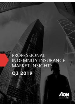 Professional Indemnity Insurance Market Insights – Q3 2019