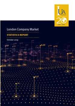 London Company Market Statistics Report 2019