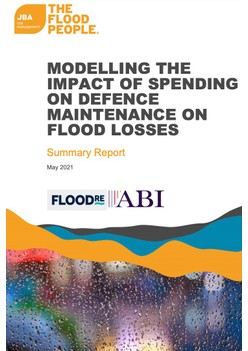 Modelling the Impact of Spending on Defence Maintenance on Flood Losses