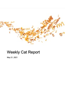Weekly Cat Report - May 21, 2021
