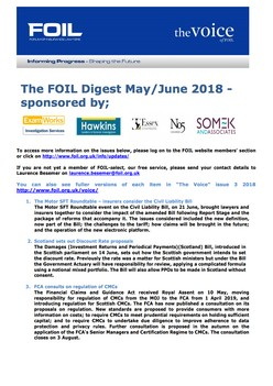 The FOIL Digest May/June 2018