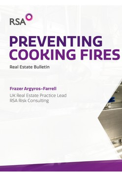RSA Risk Consulting provide Real Estate guidance on how to prevent cooking fires