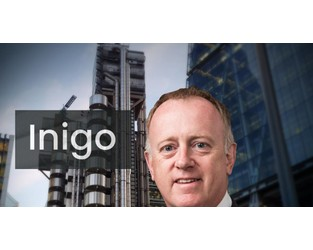 $800mn Inigo is a vote of confidence in London and Lloyd's CEO John Neal