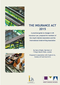 Joint LMA/IUA Guide on the Insurance Act 2015