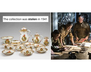 Meissen Porcelain Recovered By the Monuments Men Fetches £10.5 Million At Auction - War History Online