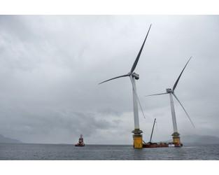 Floating Wind Farm Developer Seeks New Funding for Bigger Scale - Bloomberg