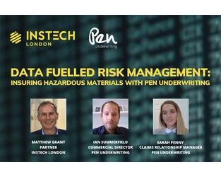 Webinar: Insuring Hazardous Goods with Pen Underwriting