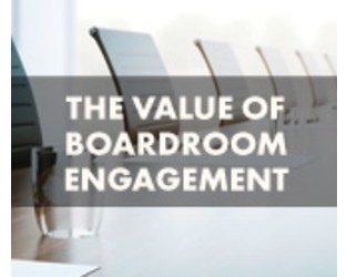 The value of boardroom engagement