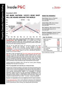 Insider In Full: RIP Mark Watson: Voce's Head Shot Will Be Heard Around The World
