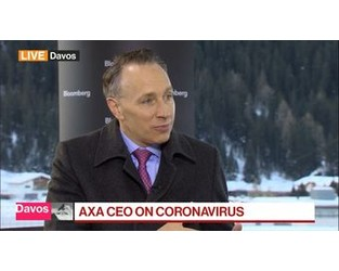 Video: AXA CEO Sees Virus Scares as 'New Norm' for Insurance Industry - Bloomberg