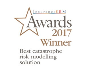 RMS Wins Best Catastrophe Risk Modeling Solution at 2017 InsuranceERM Awards