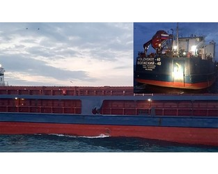 Another Russian freighter collided with fishing boat in Bosphorus - FleetMon