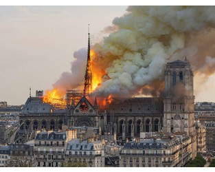 France's AXA Insures 2 Notre Dame Contractors, Some Religious Artworks