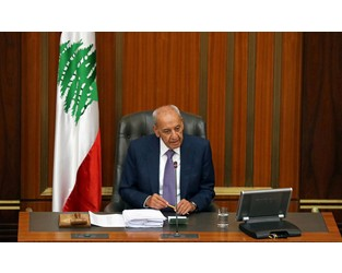 Lebanon is a sinking ship, parliament speaker warns - Reuters
