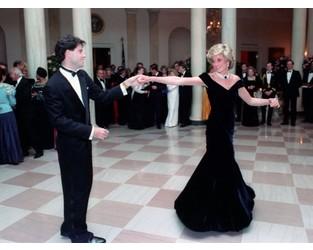 Princess Diana's 'Travolta gown' to be sold at auction for £350,000 - Independent