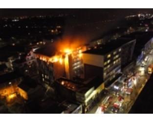 Cladding probe after Bolton student block blaze - Construction Enquirer