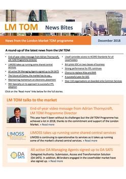 TOM News Bites - November & December 2018