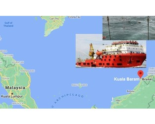 Offshore support ship sank in South China sea, VIDEO. UPDATE ship probably afloat. - FleetMon