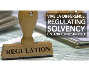 Video: Vive La Différence: Regulating Solvency U.S. and European Style