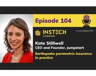 Podcast: Kate Stillwell: CEO and Founder, Jumpstart: Earthquake parametric insurance in practice