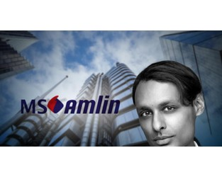 MS Amlin Lloyd's CRO Desai returns