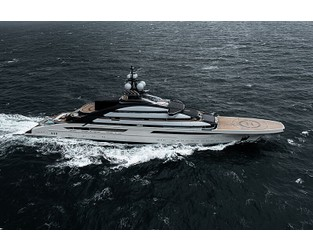 In Pictures: The new 142m Lürssen Opus at sea - SuperYacht Times