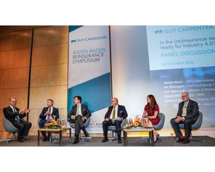 Industry needs to give capital confidence in evolving risks, Baden-Baden told