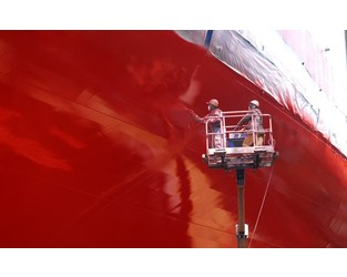High-tech ship's hull coatings promise fuel savings