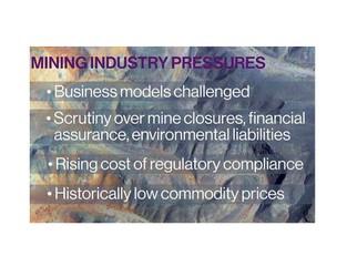 Mining under pressure