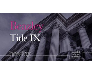 Beazley launches Title IX coverage for educational institutions
