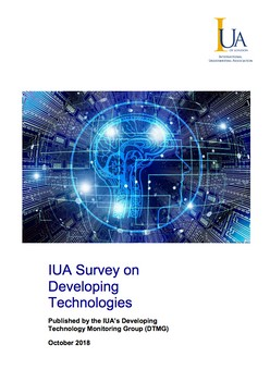 IUA Survey on Developing Technologies