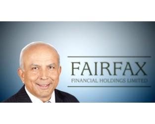 Fairfax set for Q1 CR of 96% despite winter storms
