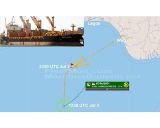Singaporean freighter attacked, 5 crew kidnapped, Nigeria - FleetMon