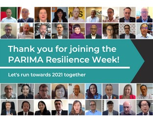PARIMA Resilience Week 2020 Highlights