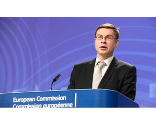 EU's Dombrovskis warns UK off financial services deregulation