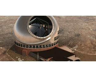 $2B Hawaiian telescope protesters block construction - Construction Dive