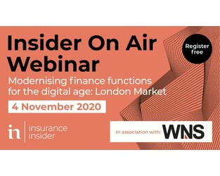 Webinar: Modernising finance functions for the digital age: London Market - Bright Talk