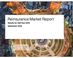 Willis Re Reinsurance Market Report September 2018: Results for Half-Year 2018