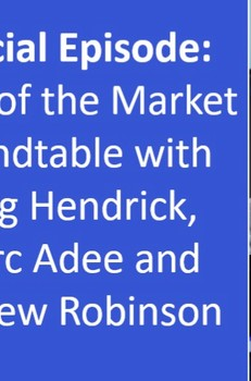 Podcast: Special Episode: State of the Market Roundtable with Greg Hendrick, Marc Adee and Andrew Robinson - The Voice of Insurance
