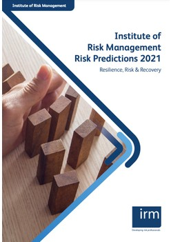 Institute of Risk Management Risk Predictions 2021